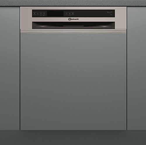 Bauknecht GSI 61415 A++ TR Geschirrspüler Teilintegriert  / 262 kWh/Jahr / 13 MGD / 3080 L/Jahr / Flüsterleise ab 39 dB / Sparsam dank Beladungserkennung