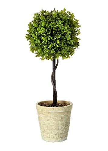 Afloral-Fake-Boxwood-Topiary-Ball-in-Pot-21-Tall