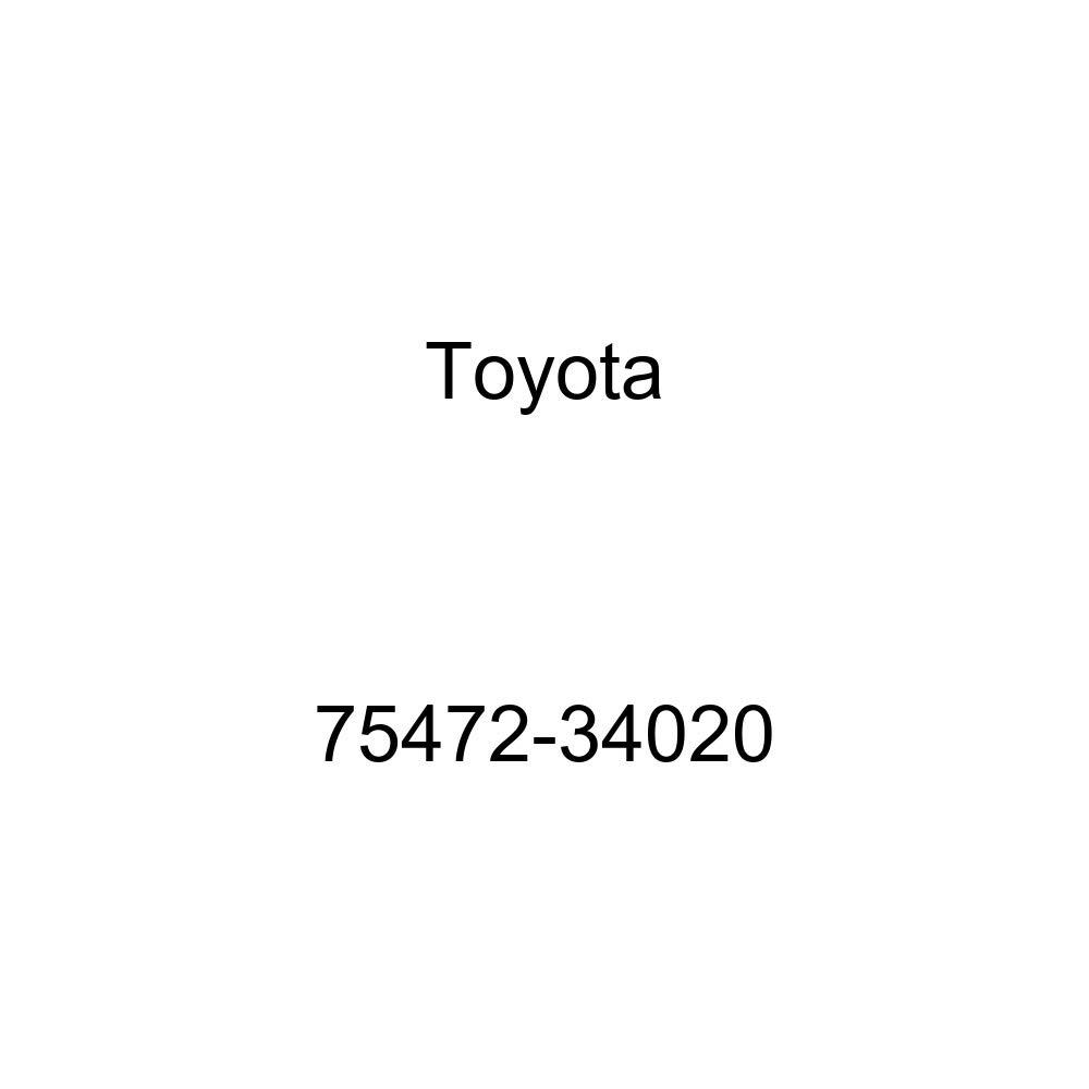 TOYOTA 75472-34020 Name Plate