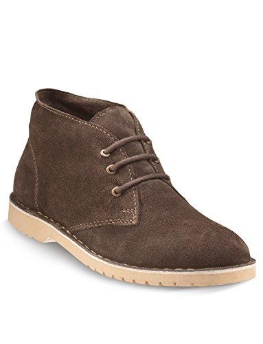 Boots In Pelle Desert Uomini Degli Brown Scamosciata q5SSvnFdxw