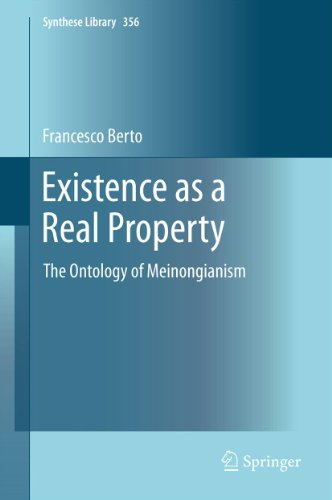 Download Existence as a Real Property: The Ontology of Meinongianism: 356 (Synthese Library) Pdf