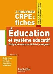 Le nouveau CRPE en Fiches Système éducatif