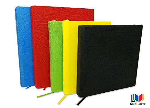 Fabric Book Covers Office Depot : Stretchable fabric book covers red blue green yellow
