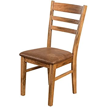 Amazon.com: SUNNY Designs Sedona – Escalera Back Side Chair ...