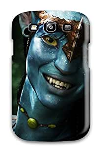 GNYbLqI9795uqDEh CaseyKBrown Awesome Case Cover Compatible With Galaxy S3 - Neytiri Avatar 1080p