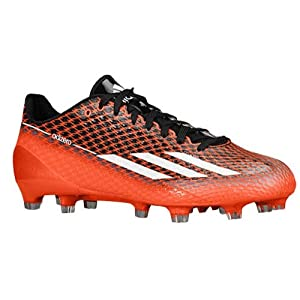 Adidas Adizero 5 Star 3.0 Mens Football Cleats 8.5 Black-White-Red