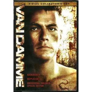 Van Damme 3 Disc Collector's Edition - Kickboxer/Replicant/Universal Soldier (Boxset)