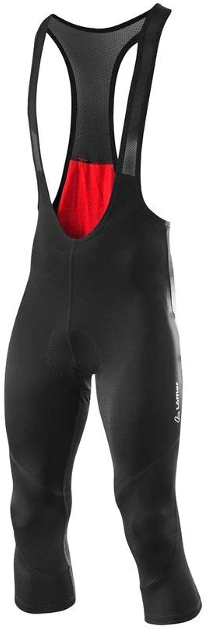 Cycling Shorts with Seat Padding L/ÖFFLER Bike 3//4 Bib Tights Basic Gel Mens 23484