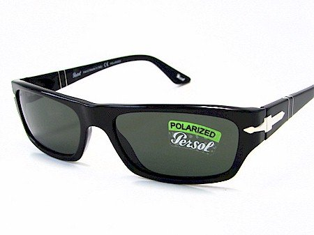 b9e42b862defd Persol 2867-S 2867S Black 95 58 Polarized Sunglasses 55X17  Amazon ...