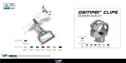 Dimotiv Damper Mounting Kit-TITANIUM (HYPERPRO) for KAWASAKI Z1000 2003-2009/Z750 2007-2012.