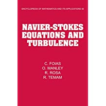 Navier-Stokes Equations and Turbulence (Encyclopedia of Mathematics and its Applications Book 83)