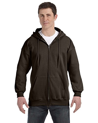 (Hanes Mens Ultimate Cotton® Heavyweight Full Zip Hoodie)