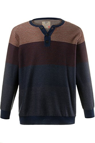 JP 1880 Homme Grandes tailles Pull multicolore 5XL 705712 90-5XL