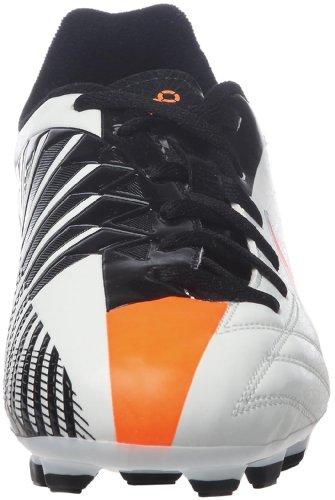 Nike Jr T90 Shoot Iv Fg Jungen Sportschuhe - Fußball, weiß - schwarz - orange, 36