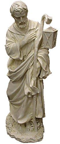 Cheap Roman 27″ Joseph's Studio Religious St. Joseph with Staff Outdoor Patio Garden Statue