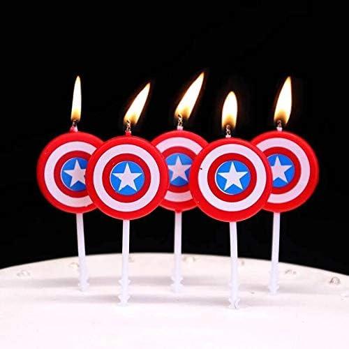 Amazon.com: Astra Gourmet America - Velas de cumpleaños para ...