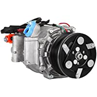SucceBuy AC Compressor For Honda Civic AC Compressor Clutch Fit For 1.8L Air Conditioning Compressor 2006-2011