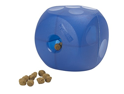 Kruuse Buster Soft Cube Feeder, Blue (Cube Dog Toy)
