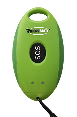 Ridersmate Advanced GPS Safety and Tracking Device for Cyclists/Bikers/Equestrians