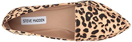 Steve Madden Womens Featherl Loafer Flat Leopard
