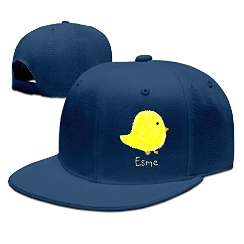 ZhiqianDF Mens Esme Baby Chick Shopping Beach Funny Hip-Hop Navy Cap Hat Adjustable - Centre Civic Shopping