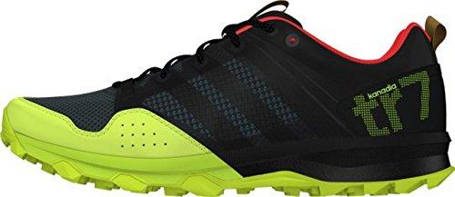 Adidas - Kanadia 7 TR corsa donna scarpa (nero/giallo) - EU 37 1/3 - 4,5 UK