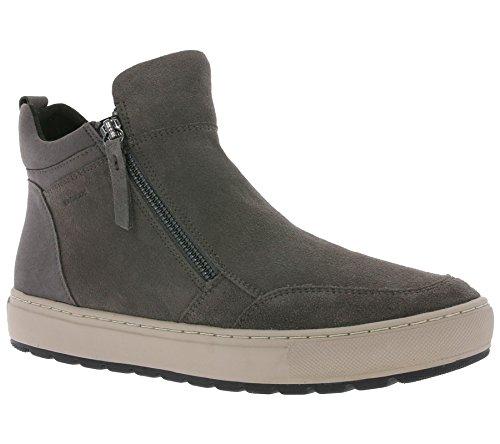 Geox D742QA Womens Sneakers Dark Gray