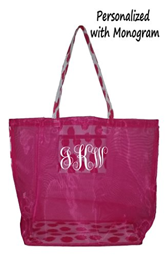 Fashion Mesh Bag Tote Stadium