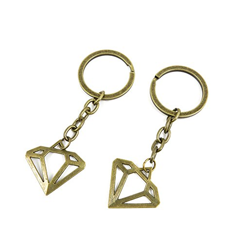 Diamond Shape Keychain - 4