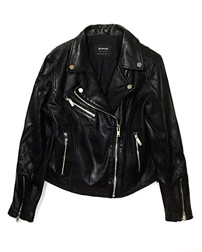 Stradivarius Jacket Femme Leather 1701 Biker 225 Xtaatw OOCaxwBq