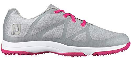 FootJoy Women's Leisure Spikeless Golf Shoe Wide Lt Grey/Space Dye Size 9 Wide US