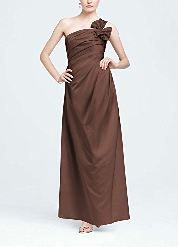 One-Shoulder-Satin-Ball-Gown-with-Fan-Detail-Style-F14430