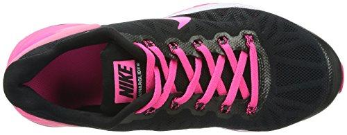 Nike Lunarglide 6 (GS) - Zapatillas para niña, color negro / rosa / blanco, talla 39