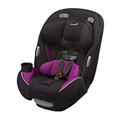 From baby to big kid, the Safety 1st Continuum 3-in-1 Convertible Car Seat is there for your family. Able to serve your family through three different stages, this car seat supports 5 to 40 pounds rear-facing, 22 to 50 pounds forward-facing, ...