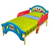 Sesame Street Plastic Toddler Bed