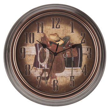 Cowboy Wall Clock Wall Decoration Media Room Man Cave Theater Room