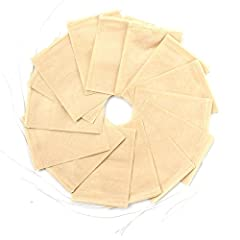 Tea Filter Bags Natural wood pulp filter paper. Disposable tea infusers for steeping high-quality loose leaf tea with the convenience of tea filter bags. Our tea bags are perfect for loose tea, spice, plants, coffee or herbal powder. 100% nat...