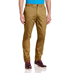 Fred Perry Men's Garment-Dyed Chino Pant