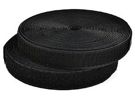 HG-X 10 Yards Black Nylon Heavy Webbing Strap 1 Inch
