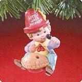 Little Jack Horner Handcrafted Ornament - Sculpted By Bob Stedler - Hallmark 1988 Artists' Favorites Series
