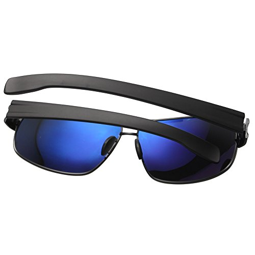 09d65fc1a73 Joopin-Polarized Sunglasses Men Polaroid Driving Sun Glasses Mens Sunglass  (Black Grey)