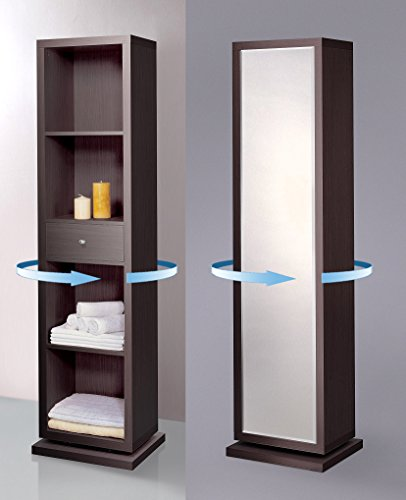 Artiva USA Bella, Home Deluxe, Accent, Sturdy Rotating System, Free-Standing Mirror and -
