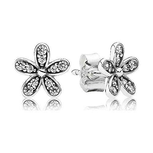 Pandora Dazzling Daisy Silver One Size Earring 290570CZ