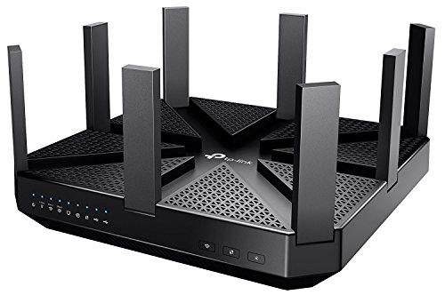 TP-Link AC5400 Wireless Wi-Fi MU-MIMO Tri-Band Router – Powerful Wi–Fi for Gaming and 4K Streaming, Comprehensive Antivirus and Security, Works with Alexa and IFTTT (Archer C5400) by TP-Link
