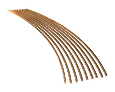 Guitar Fret Wire - Jescar WIDE-MEDIUM (47104) Gold EVO - Six Feet from Jescar