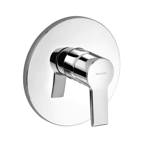 Kludi O-Cean 387600575 In-Wall Single-Lever Shower Valve Chrome