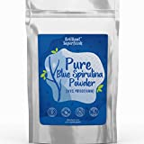 Blue Spirulina - Phycocyanin Supefood - Blue Green Algae 100% Extract - 2.11 oz / 60 grams - Pure Water Extracted Powder - Brilliant Blue Powder For Super Nutrition & Fun Food Creations - Ellie's Best