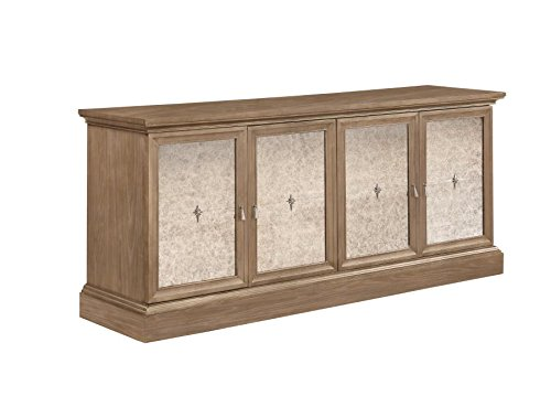Glen Cove Server with Mirrored Doors Barley Brown by Scott Living