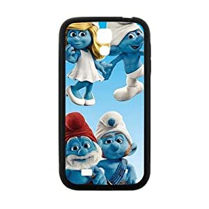 Happy Charming The Smurfs Cell Phone Case for Samsung Galaxy S4