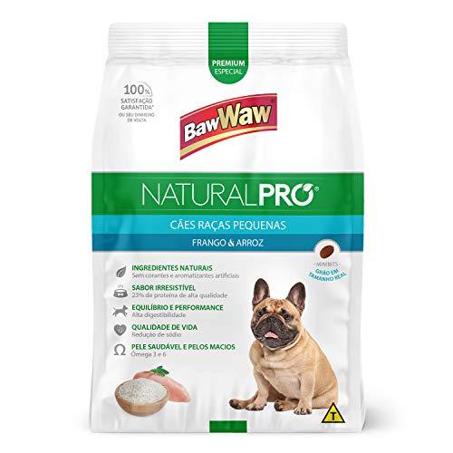 Baw Waw Natural Pró Alimento Para Cães Rpm Frango E Arroz - 6kg - Com Válvula Segurança